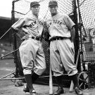 NY YANKEES- LOU GEHRIG & ROOKIE BILL DICKEY 11x14 SIZE
