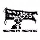 BROOKLYN DODGERS FINE ART RUBBER STAMP