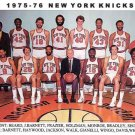 NEW YORK KNICKS - 1975-76 COLOR TEAM PHOTO