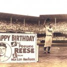 BROOKLYN DODGERS- PEE WEE REESE DAY - EBBETS FIELD
