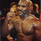 BOXING- EVANDER HOLYFIELD - COLOR