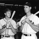 ST.LOUIS CARDINALS- STAN MUSIAL & TED WILLIAMS -RED SOX