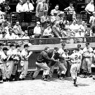 NEW YORK GIANTS - WILLIE MAYS EBBETS FIELD HOME RUN