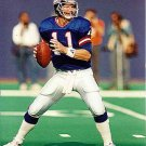 NEW YORK GIANTS- PHIL SIMMS -GAME ACTION COLOR #3