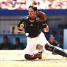 NEW YORK METS- MIKE PIAZZA- SHEA STADIUM ACTION