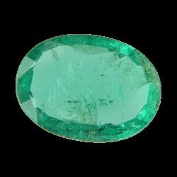 8.9X6.5 mm. Green Oval SKU: G775568432