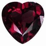 3 mm Heart Shape Garnet in A Grade [GFR091706207]