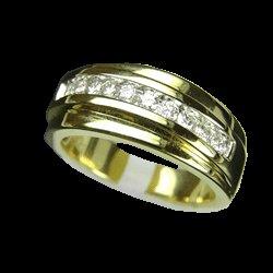 0.56 Cts. Diamond 18k Gold Ring