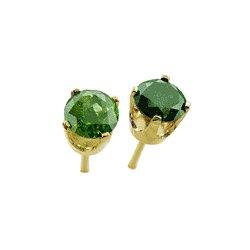 0.50 Cts. Diamond 14k White Gold Earrings