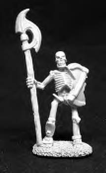 Reaper Miniatures #2014  Skeleton with Halberd (OOP)