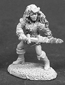 Reaper Miniatures #2006 Sidrith, Sword Sister (OOD)