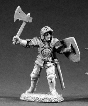 Reaper Miniatures #2033, Sir Falkirk Nobleheart (OOP)