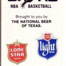 1981-82 SAN ANTONIO SPURS BASKETBALL SCHEDULE