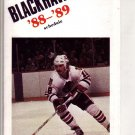1988-89 CHICAGO BLACK HAWKS HOCKEY SCHEDULE