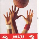 1982-83 ATLANTA HAWKS BASKETBALL SCHEDULE