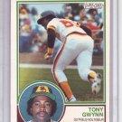 TONY GWYNN 1983 OPC ROOKIE CARD # 143