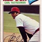 CARL YASTRZEMSKI 1977 OPC CARD # 37