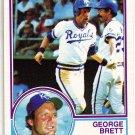 GEORGE BRETT 1983 OPC CARD # 3