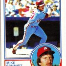 MIKE SCHMIDT 1983 OPC CARD # 300
