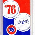 1976 LOS ANGELES DODGERS BASEBALL SCHEDULE