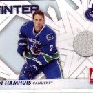 DAN HAMHUIS 2010-11 DONRUSS JERSEY CARD