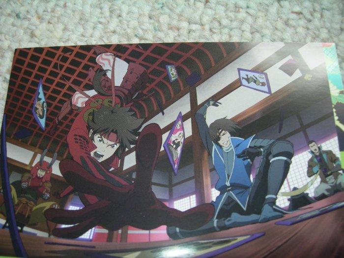 BASARA New Year Promo Postcard Furoku Anime