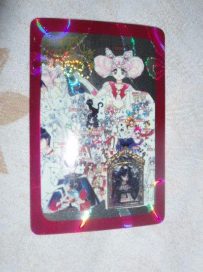 Sailor Moon Manga Sticker Card Group