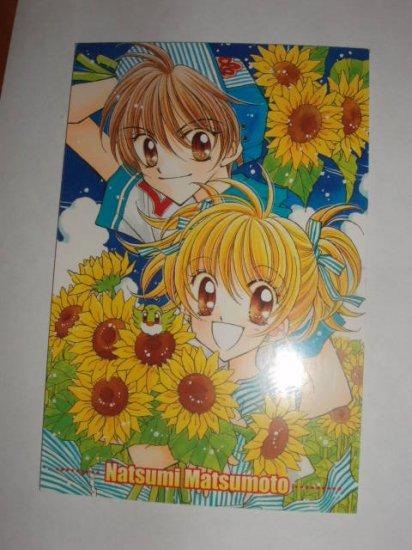 Natsumi Matsumoto Ribon manga furoku postcard