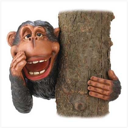 Hide & Seek Monkey Tree Decor  #39704