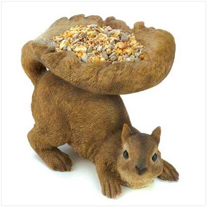 Woodland Squirrel Birdfeeder  #12785