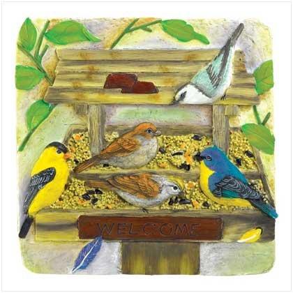 Backyard Birdfeeder Plaque  #38267