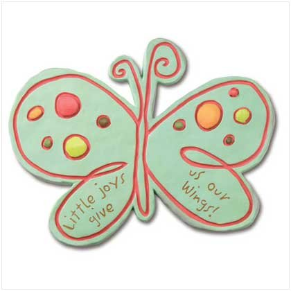 Mosaic Butterfly Stepping Stone/Plaque  #37731