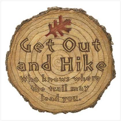 'Get Out and Hike' Stepping Stone  #37201