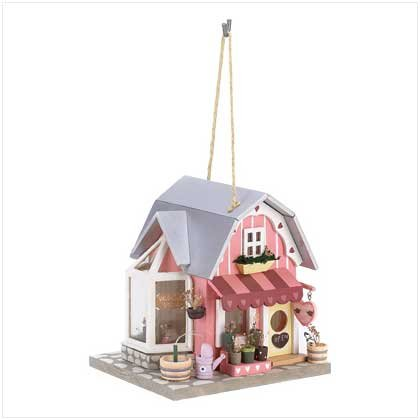 Fanciful Florist Birdhouse  #39479
