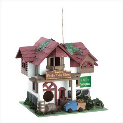 Paradise Winery Birdhouse  #12504
