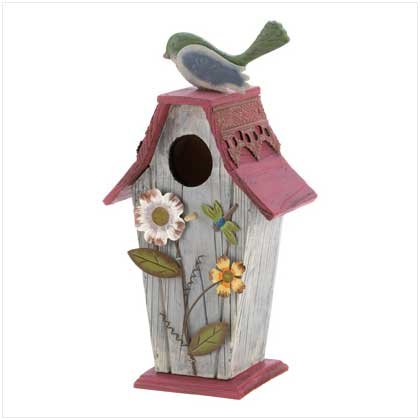 Garden Cottage Birdhouse  #12586