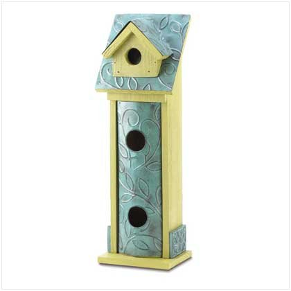 Country Charmer Birdhouse  #38525