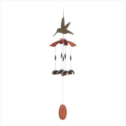 Hummingbird Cutout Chime  #12512