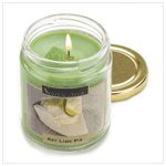 Key Lime Pie Scent Candle  #12022