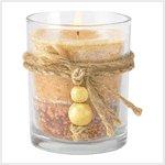 Wood Spice Jar Candle  #39245