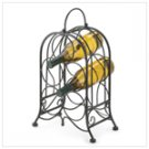 Artistic Iron Wine Holder  #39858