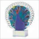 Art Glass Peacock  #38982
