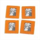 Orange Photo Frame Coasters  #36541