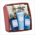 Lavender & Sage Bath Set On Tray  #36397