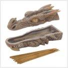 Dragon Head Incense Burner Box  #38193