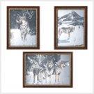 Winter Wolves Mirror Set  #39276