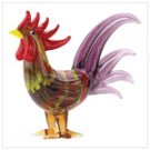 Art Glass Rooster Figurine  #12682