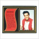 Elvis Biography Plaque  #39279