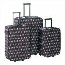 Stylish Skull Luggage Trio  #12930
