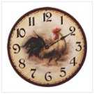 Rooster Wall Clock   #33167